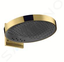 Hansgrohe Rainfinity - Soffione doccia 360 con attacco, 3 getti, color oro lucido 26234990