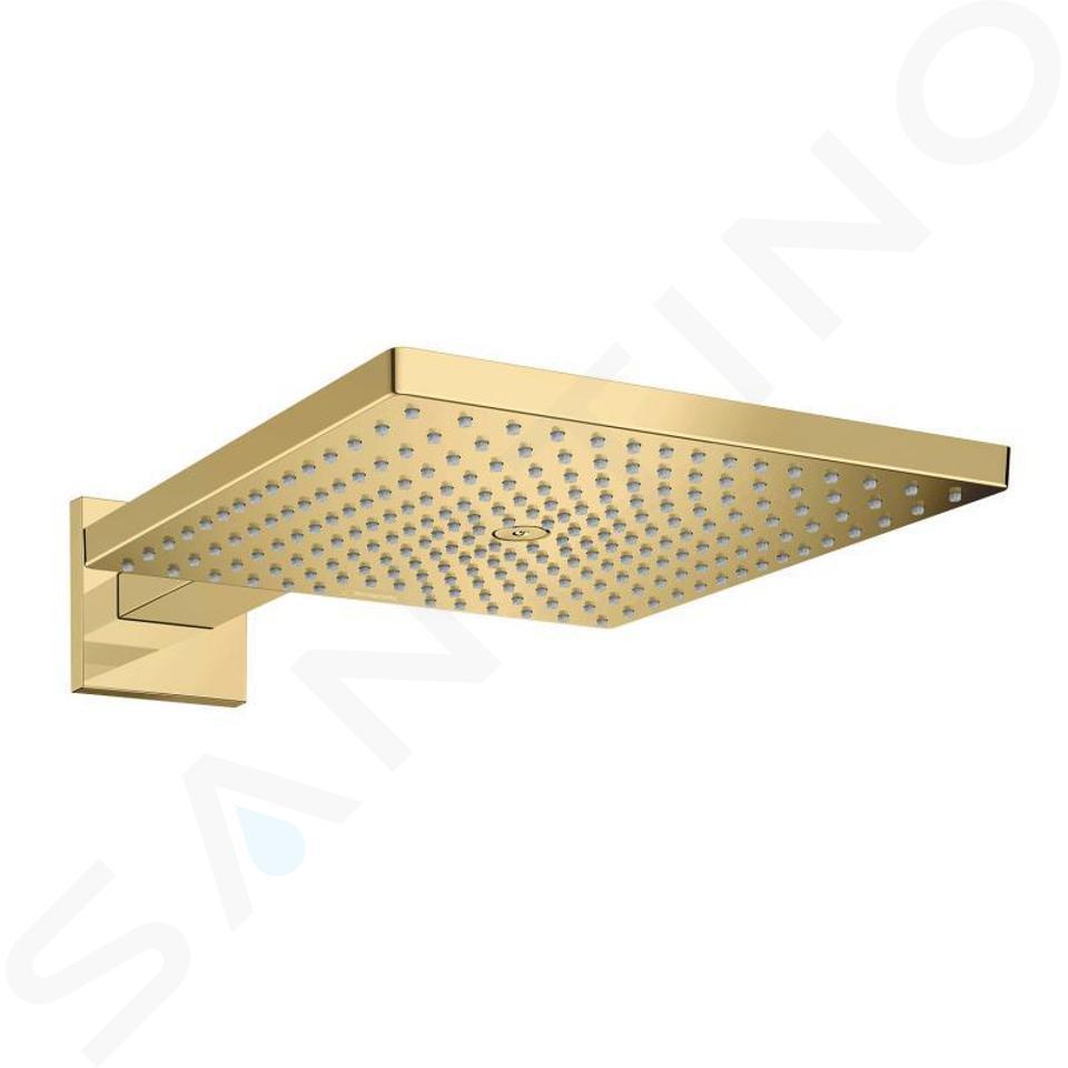 Hansgrohe Raindance E - Kopfbrause E 300 mit Duscharm, Gold poliert 26238990