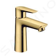 Hansgrohe Talis E - Mitigeur de lavabo avec tirette de vidage, aspect doré poli 71710990