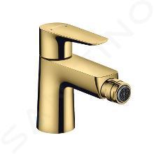 Hansgrohe Talis E - Bidetová batéria s výpusťou, leštený vzhľad zlata 71720990