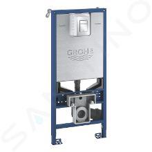 Grohe Rapid SLX - Inbouwelement voor wand wc met spoelreservoir en bedieningsplaat 39603000
