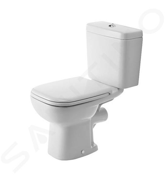 Duravit D Code Vaso Wc Combinato Scarico Posteriore Bianco Alpino 21110900002 Sanitino It