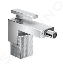 Axor Edge - Bidetová batéria s výpusťou, chróm/diamantový brús 46211000