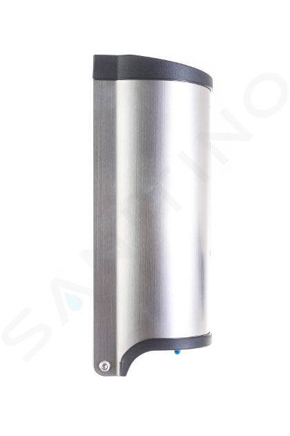 G21 River - Zásobník tekutého mydla bezdotykový, 800 ml, nerezová 635365