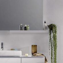 Geberit iCon - Wandablage 600x165 mm, weißmatt 841960000