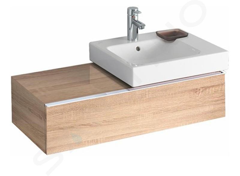 Geberit iCon - Meuble sous lavabo 500 mm avec plage de dépose, chêne naturel 841592000