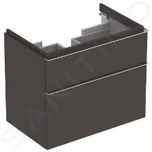 Geberit iCon - Waschtischunterschrank 750 mm, lava 841376000