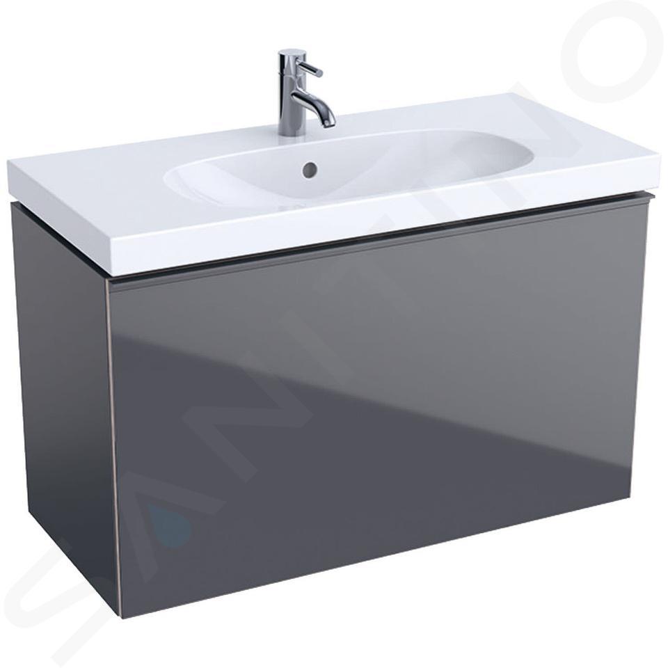 Geberit Acanto - Meuble sous lavabo 900 mm, lave 500.616.JK.2