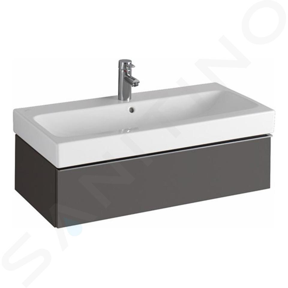 Geberit iCon - Waschtischunterschrank 900 mm, lava 841291000