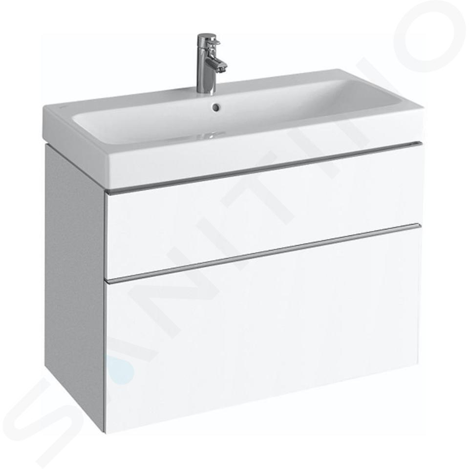 Geberit iCon - Wastafelonderkast 900 mm, mat wit 841390000