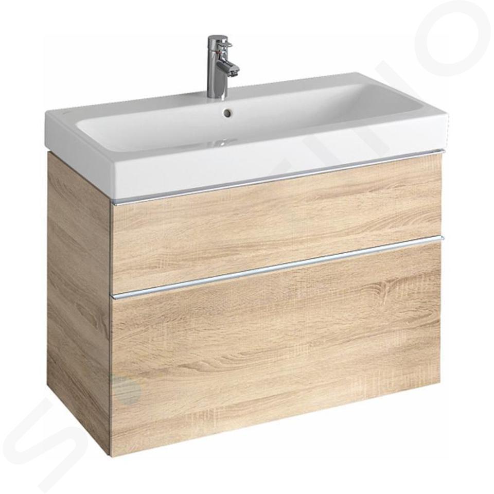 Geberit iCon - Meuble sous lavabo 900 mm, chêne naturel 841392000