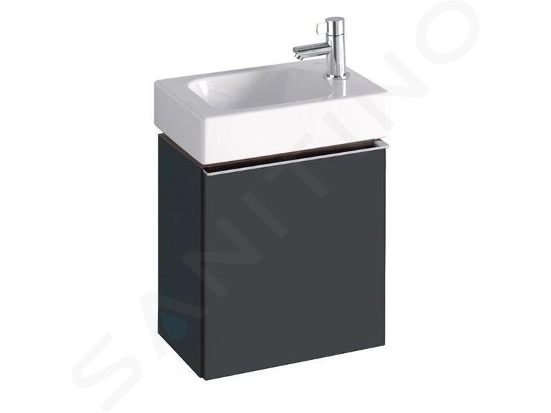 Geberit iCon - Unterschrank für Handwaschbecken 380 mm, lava 841038000