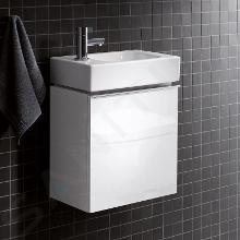 Geberit iCon - Meuble sous lave-mains 380 mm, blanc poli 840837000
