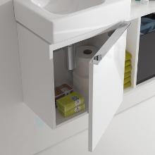 Geberit iCon - Fontein onderkast 380 mm, mat wit 841037000