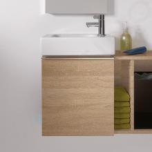 Geberit iCon - Unterschrank für Handwaschbecken 380 mm, Eiche natur 841039000