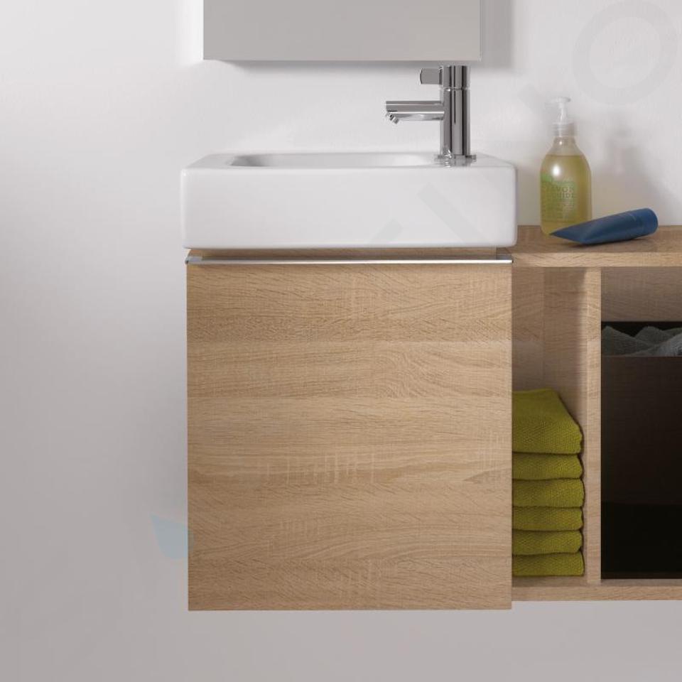 Geberit iCon - Unterschrank für Handwaschbecken 380 mm, Eiche natur 841839000