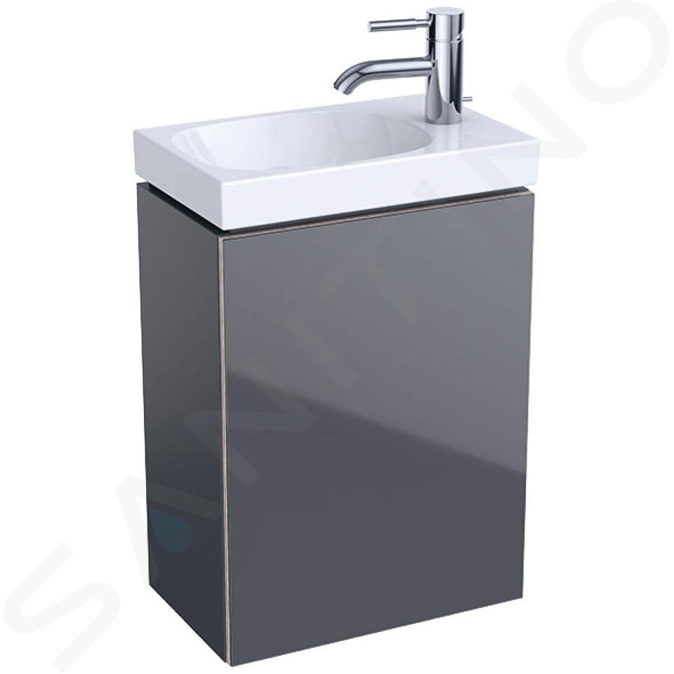 Geberit Acanto - Unterschrank für Handwaschbecken 400 mm, lava 500.607.JK.2