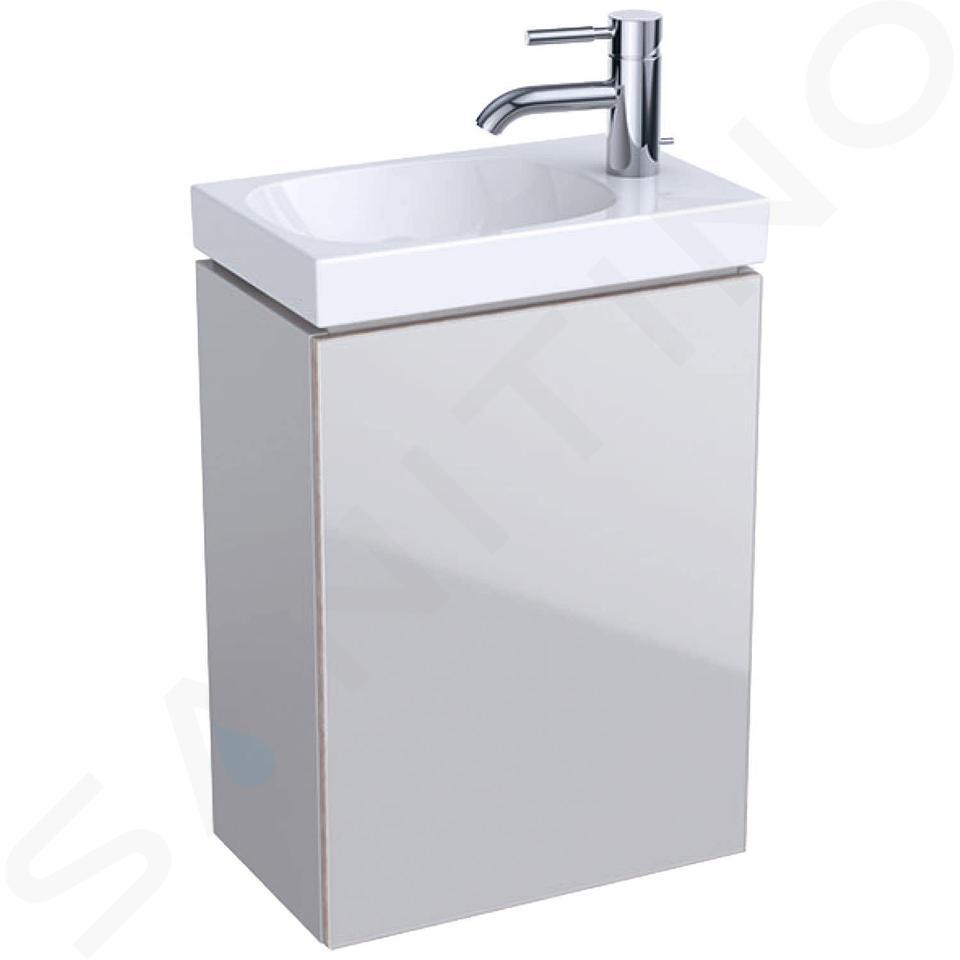 Geberit Acanto - Meuble sous lave-mains 400 mm, sable gris 500.607.JL.2