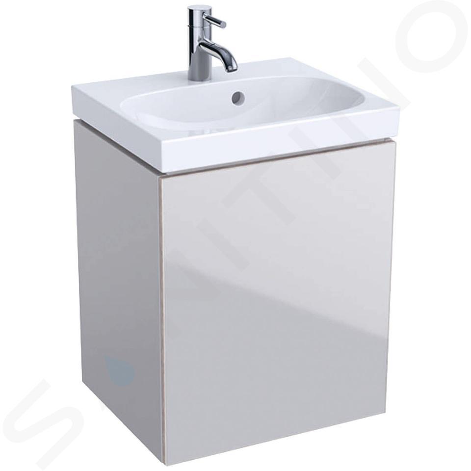 Geberit Acanto - Unterschrank für Handwaschbecken 450 mm, sandgrau 500.608.JL.2
