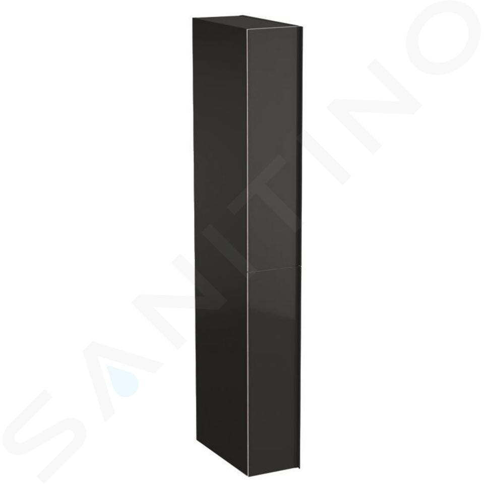 Geberit Acanto - Mobiletto alto 1730x220 mm, due cassetti, color lava 500.638.JK.2