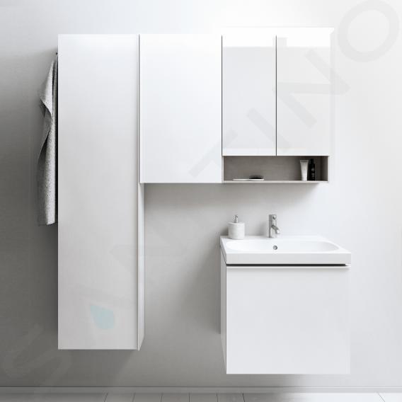 Geberit Acanto - Hochschrank 1730x450 mm, weiß glänzend 500.637.01.2