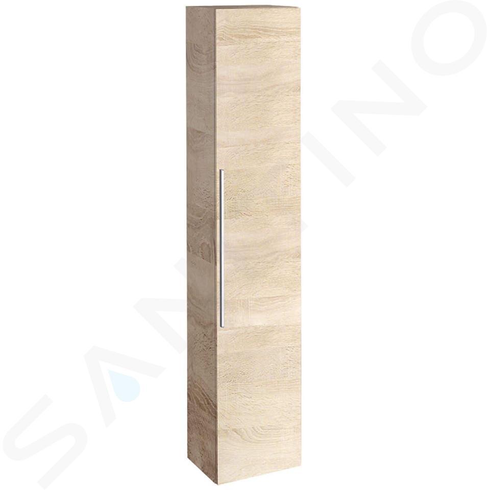 Geberit iCon - Hoge badkamerkast 1800x360 mm, eikenkhout 841002000