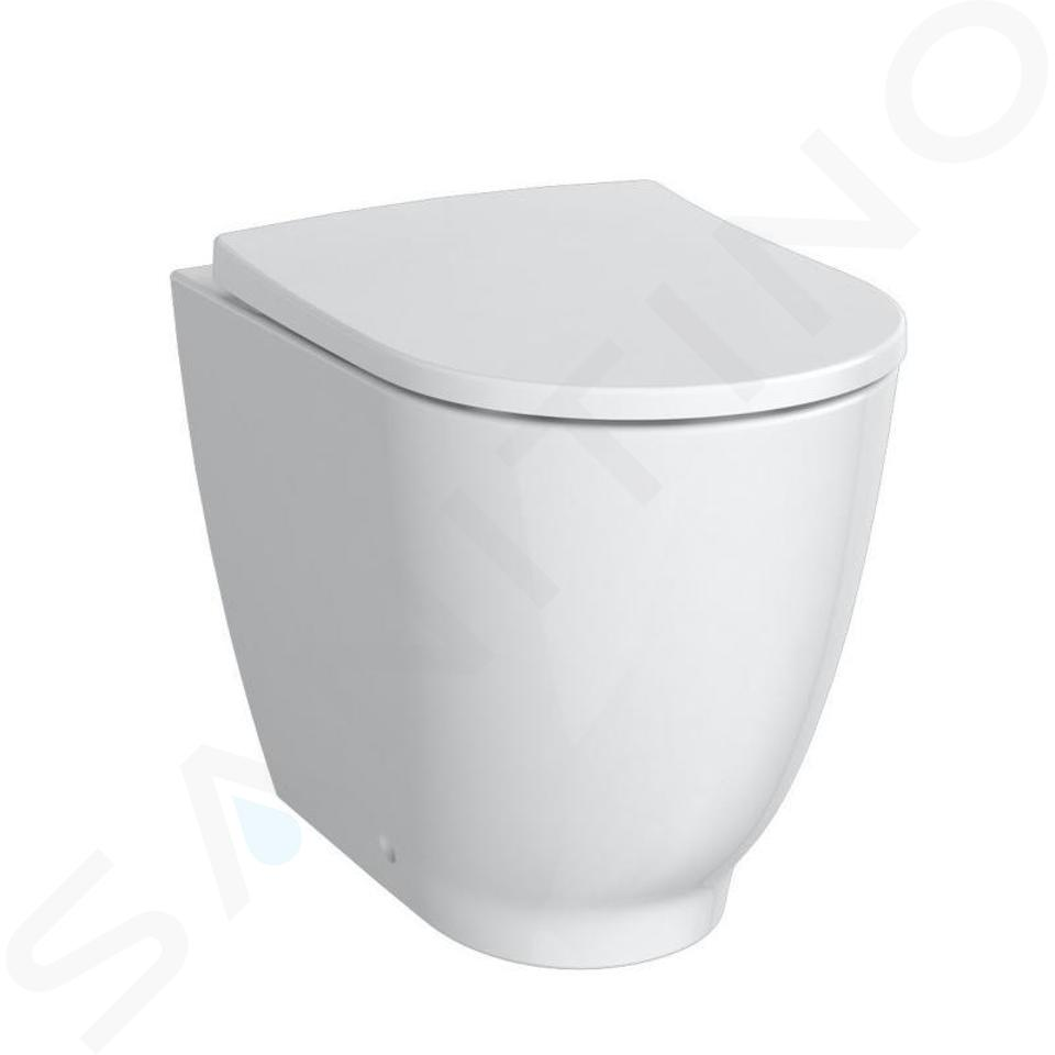 Geberit Acanto - Stand-WC, Rimfree, mit KeraTect, weiß 500.602.01.8