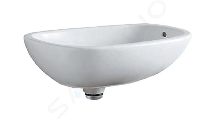Geberit Citterio - Wastafel 560x400 mm voor waskom, met overloop, KeraTect, wit 500.543.01.1