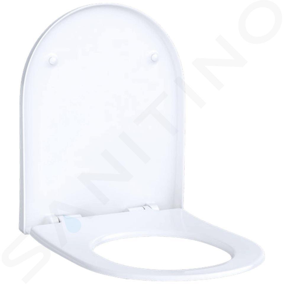 Geberit Acanto - WC-Sitz, Duroplast, weiß 500.604.01.2