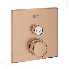 Grohe Grohtherm SmartControl - Termostatická sprchová batéria pod omietku s 1 ventilom, kefovaný Warm Sunset 29123DL0