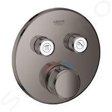 Grohe Grohtherm SmartControl - Thermostat-Duscharmatur - Unterputz mit 2 Absperrventilen und Duschhalter, Hard Graphite 29119A00