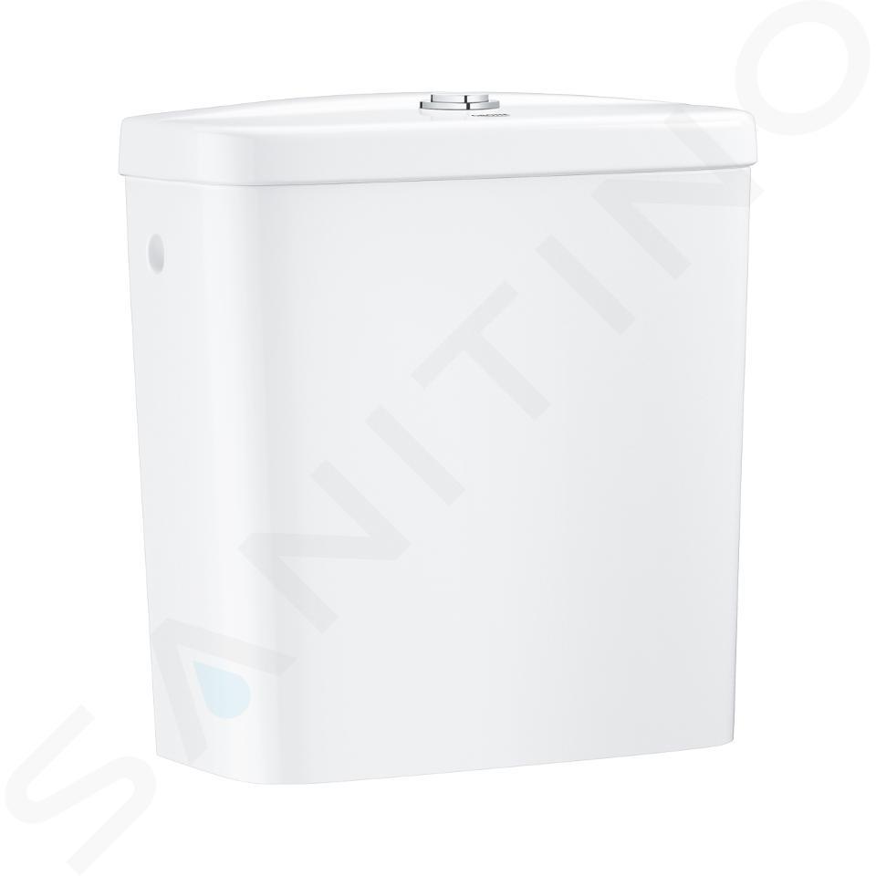 Grohe Bau Ceramic - WC kombi set s nádržkou a sedátkem, alpská bílá 39495000