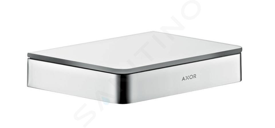 Axor Universal - Tablette murale, 150 mm, chrome/verre 42840000