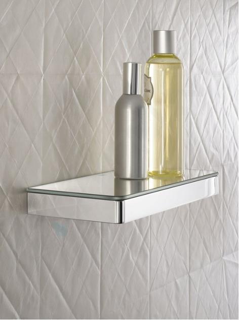 Axor Universal - Ablage, Länge 150 mm, Chrom / Glas 42840000