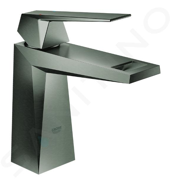 Grohe Allure Brilliant - Wastafelkraan met waste, geborsteld Hard Graphite 23033AL0