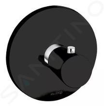 Kludi Balance - Miscelatore termostatico ad incasso, nero opaco/cromo 527298775