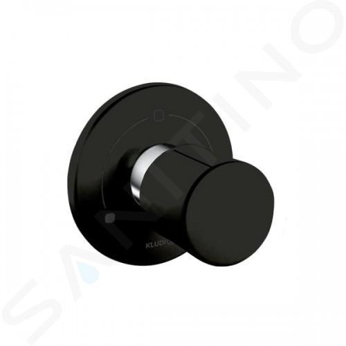 Kludi Balance - Robinet encastré pour 2 sorties, noir mat 528478775