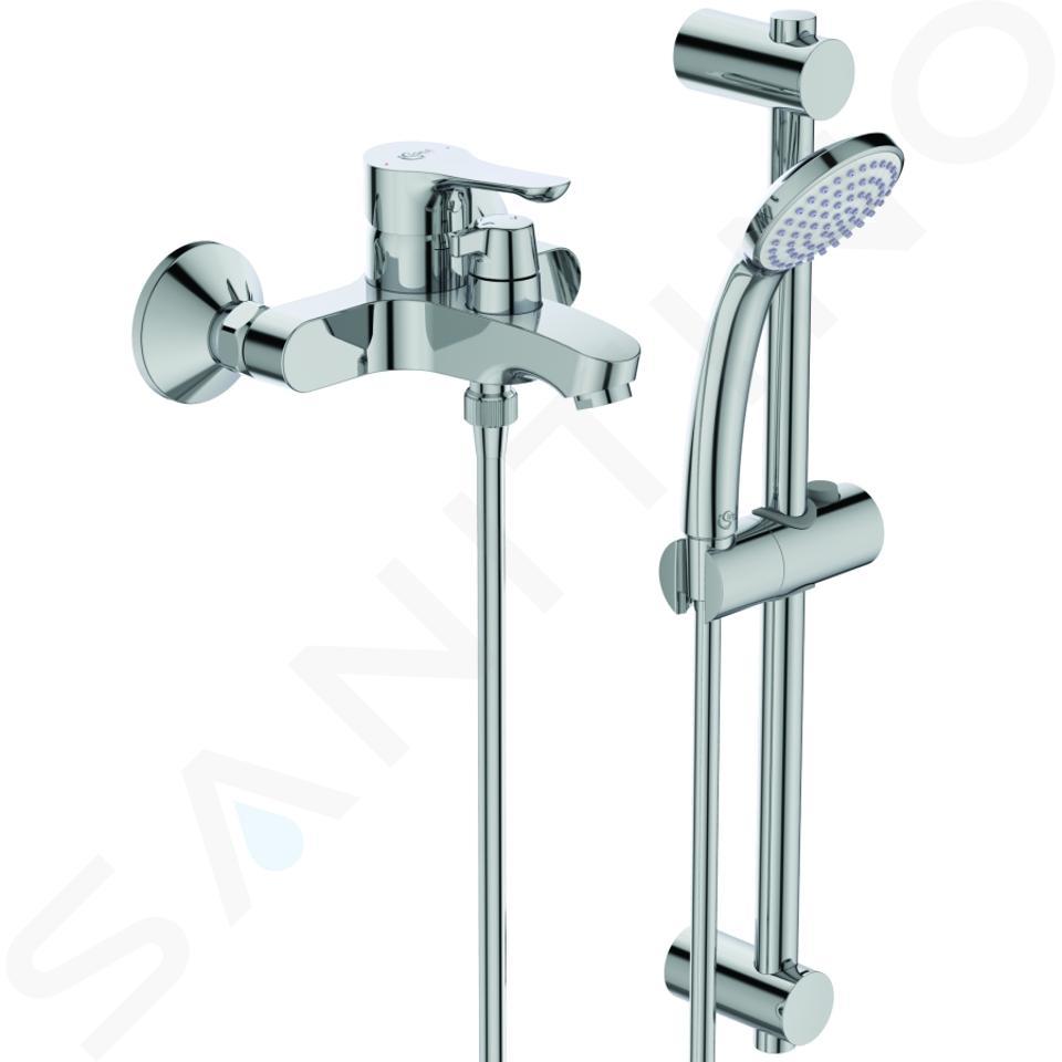 Ideal Standard Alpha - Opbouw badkraan met keramische omstelkraan en toebehoren, chroom BC656AA