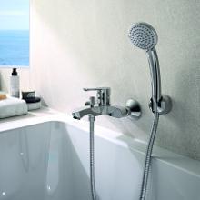 Ideal Standard Alpha - Opbouw badkraan met toebehoren, chroom BC676AA