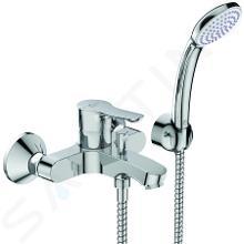 Ideal Standard Alpha - Mitigeur de baignoire avec accessoirs, montage mural, chrome BC676AA