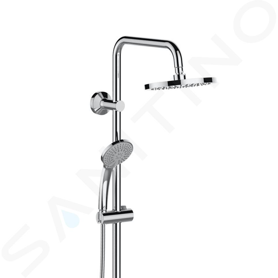 Ideal Standard Idealrain - Doucheset 200 met thermostaat, 3jet, chroom A6648AA