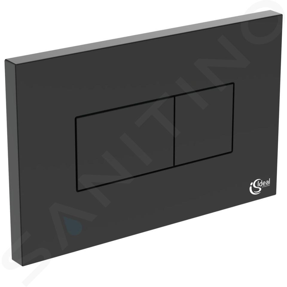 Ideal Standard Solea - Betätigungsplatte Solea P2, schwarz R0110A6