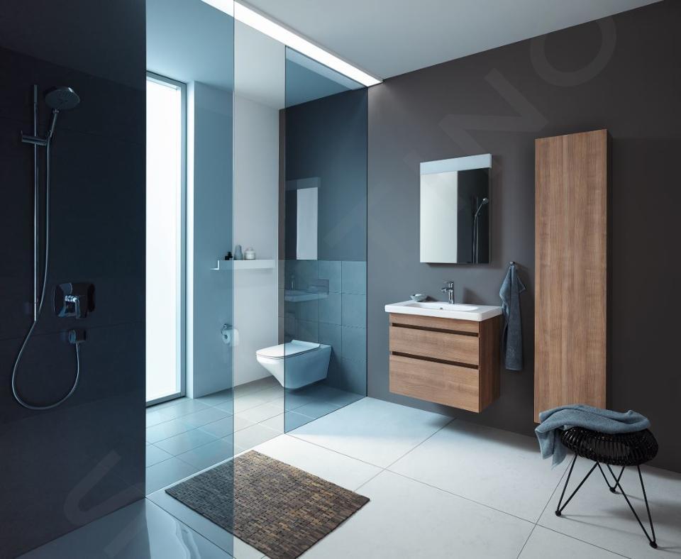 Duravit DuraStyle - Lavabo Compact, 550x400 mm, avec un trou pour robinet, avec WonderGliss, blanc alpin 23375500001