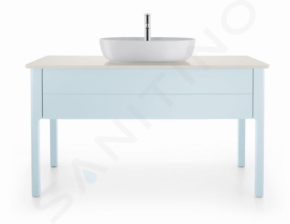 Duravit Luv - Vasque 600x400 mm, avec un trou pour robinet, DuraCeram, blanc alpin 0380600000