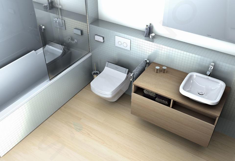 Duravit DuraStyle - Waschtischunterschrank 500x1000x550 mm, rechts, weiß glänzend DS6784R2222