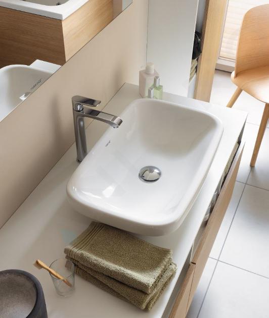 Duravit DuraStyle - Waschtischunterschrank 500x1400x550 mm, rechts, mit 2 Aufzügen, weiß glänzend DS6785R2222