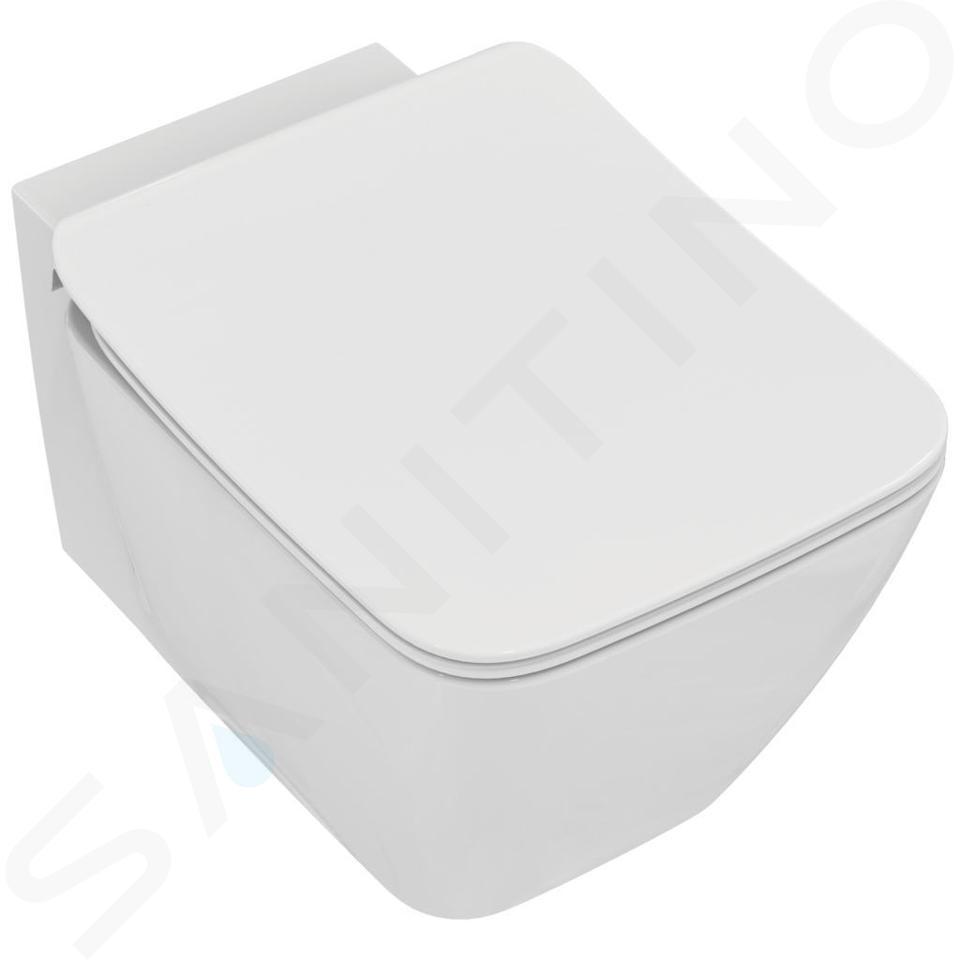Ideal Standard ProSys - Toiletset- inbouwreservoir, closet, WC-zitting Strada II, Oleas M2 bedieningsplaat, Aquablade, SoftClose, wit ProSys120M SP25