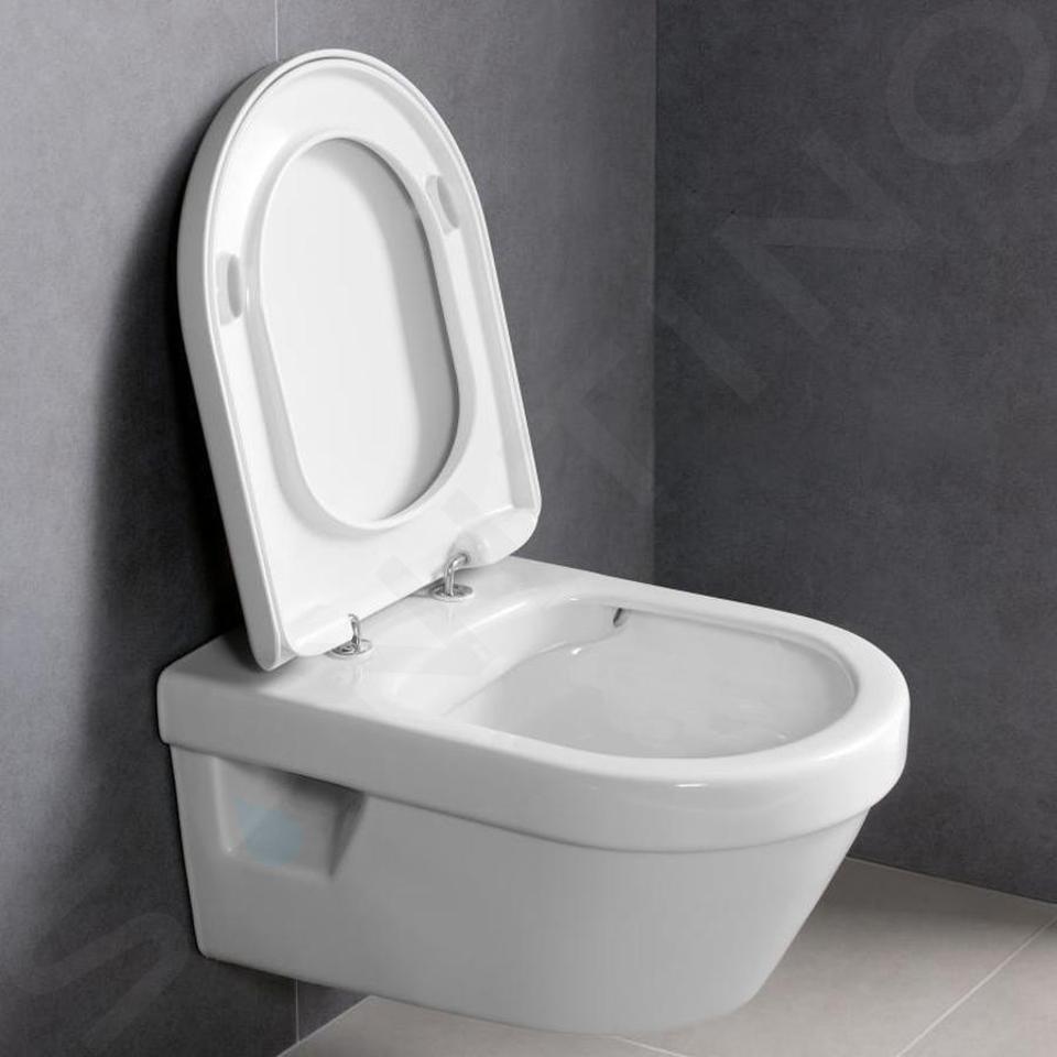 Ideal Standard ProSys - Set - Vorwandelement, Klosett und WC-Sitz Architectura, Betätigungsplatte Oleas M1, DirectFlush, SoftClose, CeramicPlus, weiß ProSys120M SP46