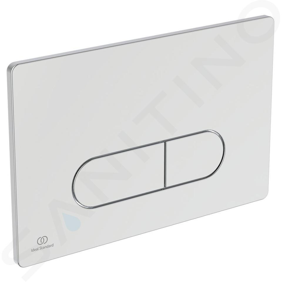 Ideal Standard ProSys - Toiletset- inbouwreservoir, douche-WC, WC-zitting TECEone, Oleas M1 bedieningsplaat, Rimless, SoftClose, chroom ProSys120M SP60