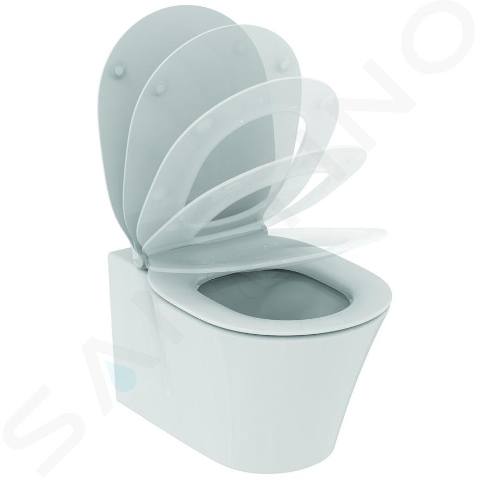 Ideal Standard ProSys - Toiletset- inbouwreservoir, closet, WC-zitting Connect Air, Oleas M1 bedieningsplaat, Aquablade, SoftClose, mat chroom ProSys80M SP95